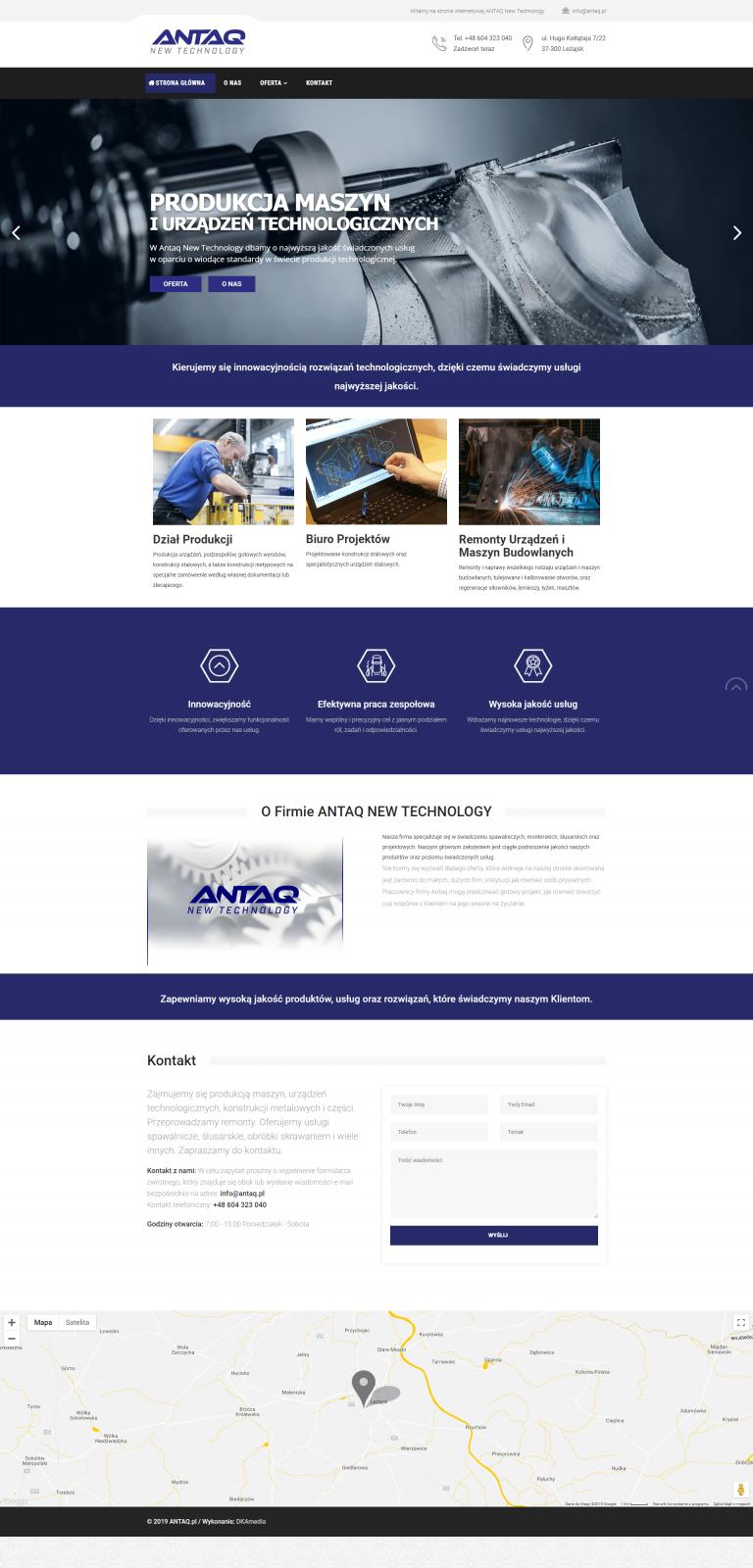 ANTAQ - produkcja nowych technologi