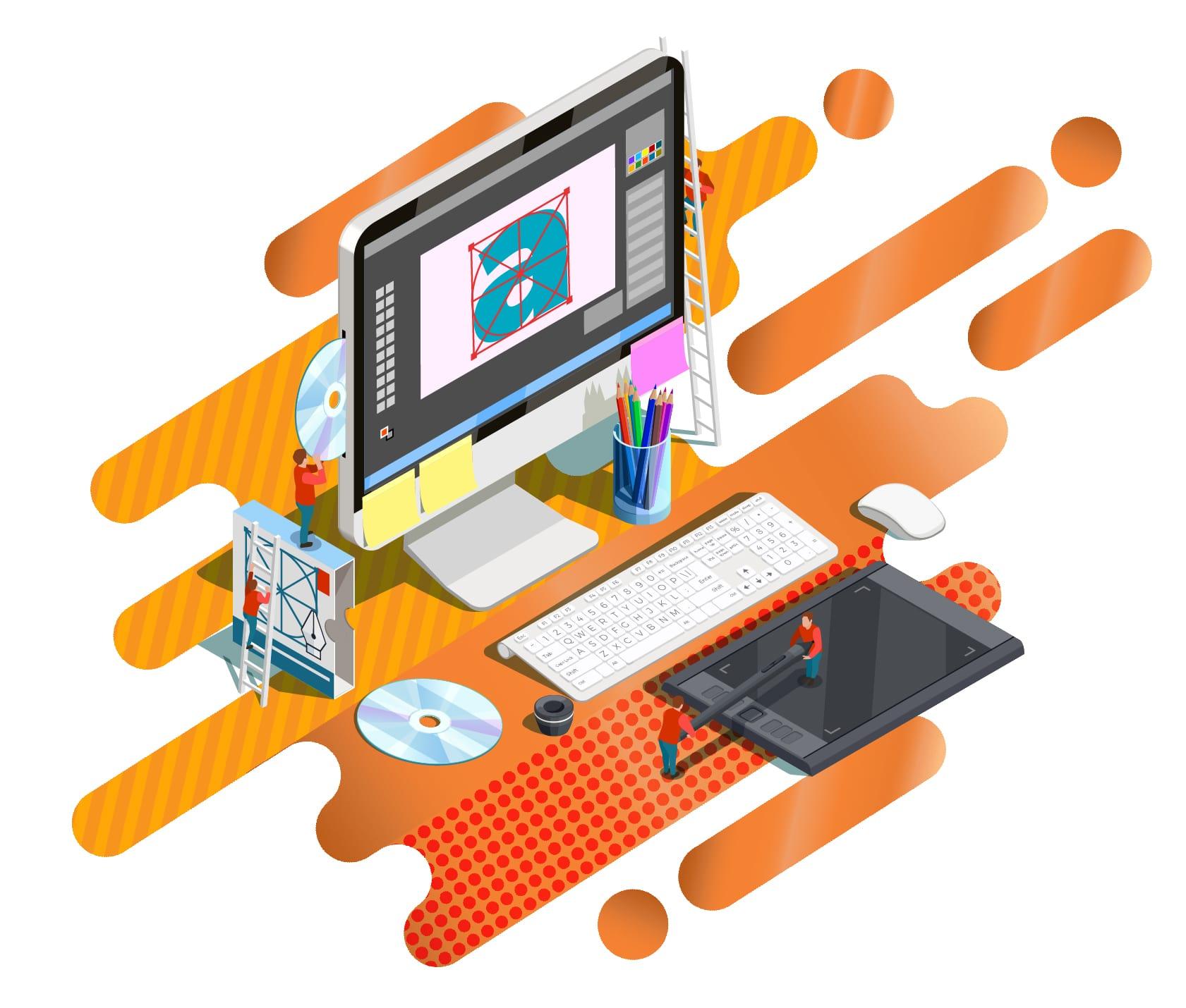 DKAmedia Agencja Reklamowa - oferta grafika