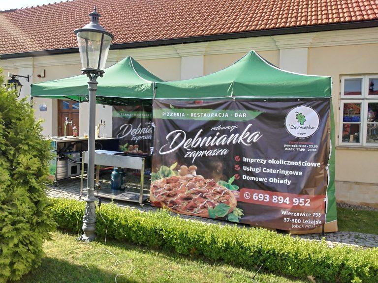 Agencja Reklamowa DKAmedia - Oferta Drukarnia - Bannery - projekt oraz wydruk banneru dla firmy Spółdzielnia Socjalna Dębnianka w Leżajsku