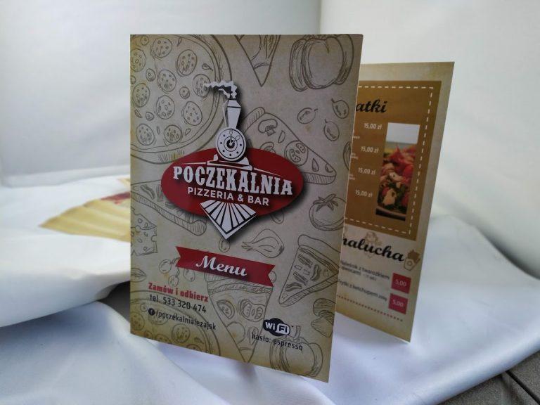 Agencja Reklamowa DKAmedia - Oferta Drukarnia - Ulotki - projekt oraz wydruk ulotek dla firmy Poczekalnia z Leżajska