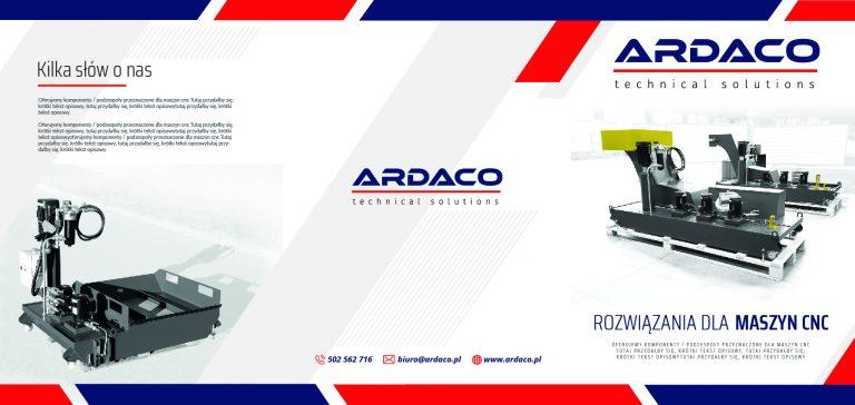 Agencja Reklamowa DKAmedia - Oferta Drukarnia - Katalogi - projekt oraz wydruk katalogu dla firmy Ardaco w Leżajsku