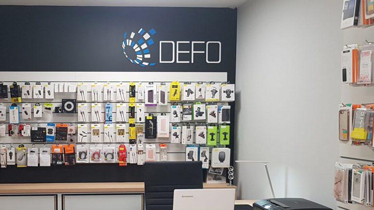 Agencja Reklamowa DKAmedia - Oferta Reklama - Litery 3D - realizacja oraz montaż liter 3D dla firmy DEFO w Łańcucie