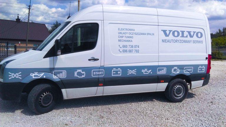 Oklejanie Bok Volvo 1
