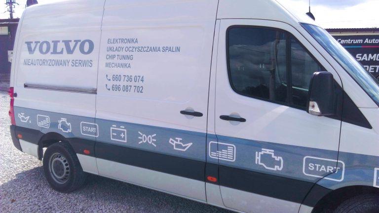 Oklejanie Bok Volvo
