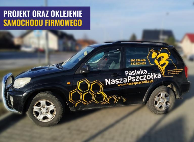Oklejanie Pszczółka Volvo