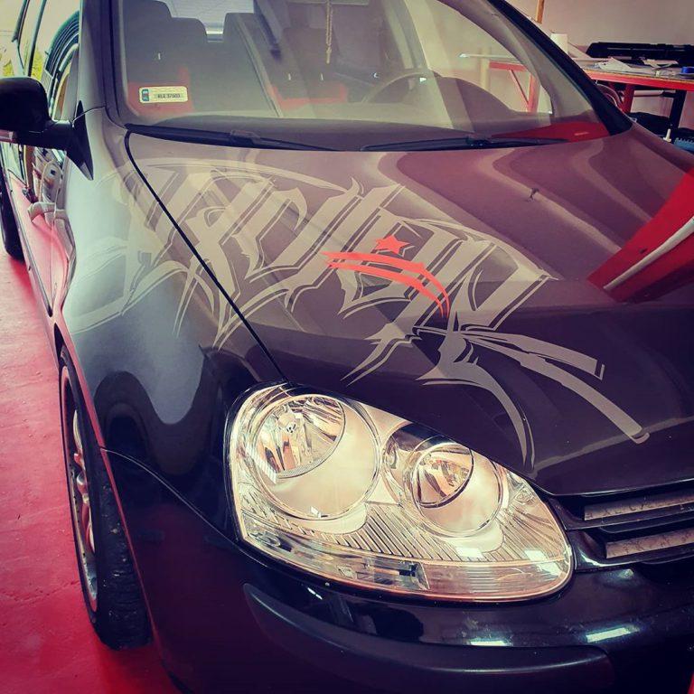 Oklejanie Przód Opel