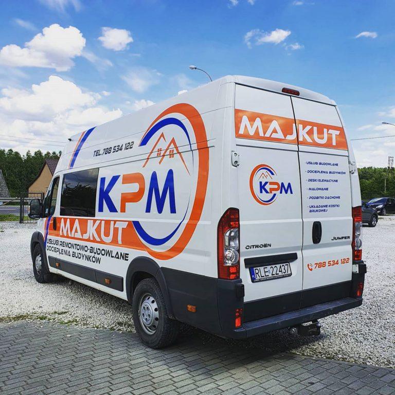 Oklejanie busa - firma Majkut usługi docieplenia - DKAmedia